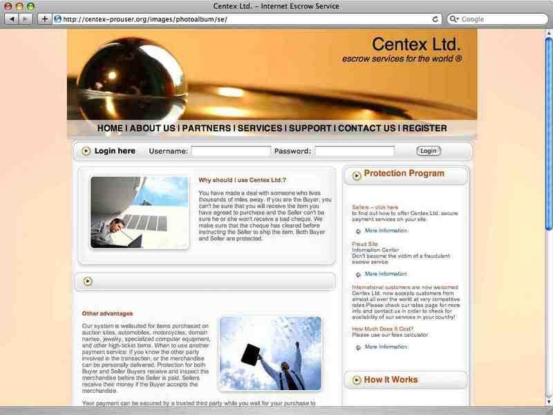internet escrow services