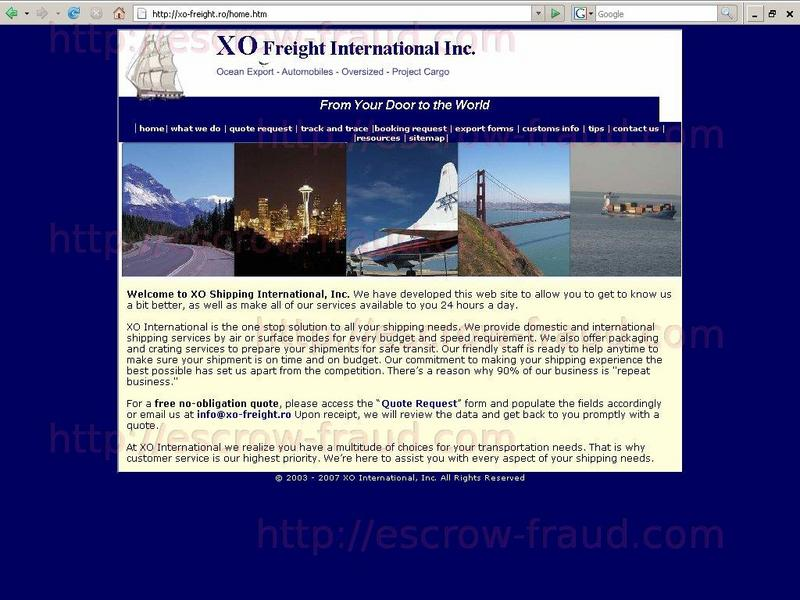 Search Database Escrow Fraud Prevention